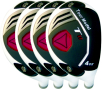 Built Tour Model T11 White Hybrid 4-Club Steel Set
