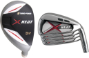 Custom-Built Turbo Power X-Heat Hybrid / Iron Combo Set (8 Clubs)