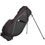 Ogio Featherlite Luxe Ladies Stand Bag Polka Dot/Charcoal