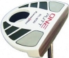 PowerBilt One Putt White Mallet Belly Putter