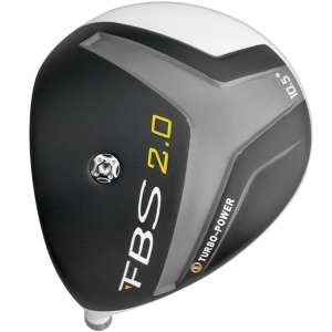 Turbo Power FBS 2.0 Titanium Driver Head Left Hand