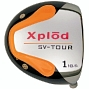 Xplod Round Orange Titanium Driver Head