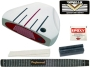 Heater 5.0 White Mallet Putter Component Kit LH