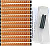 "Winn Excel Oversize (+1/8"") Copper Grip Kit"