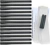 Tiger Synthetic Wrap Standard Black - 13 pc Grip Kit