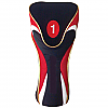 Red-Black Driver Head Cover