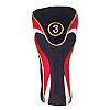 Red-Black Fairway Head Cover
