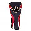 Red-Black Fairway Head Cover