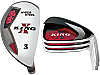 Custom-Built King-X Hybrid / Iron Combo Set (8 Clubs)