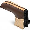 Sahara Retro Brown/Beige Golf Putter Headcover
