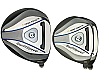 Built Turbo Power SwiftSpeed Titanium Driver + 2 x Fairway Woods