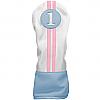 Sahara Retro Golf Headcover Blue/White/Pink - Driver
