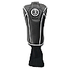 Synthetic Black Headcover with Sock - Fairway Wood