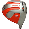 Custom-Built Geek Golf No Brainer Titanium Driver Orange