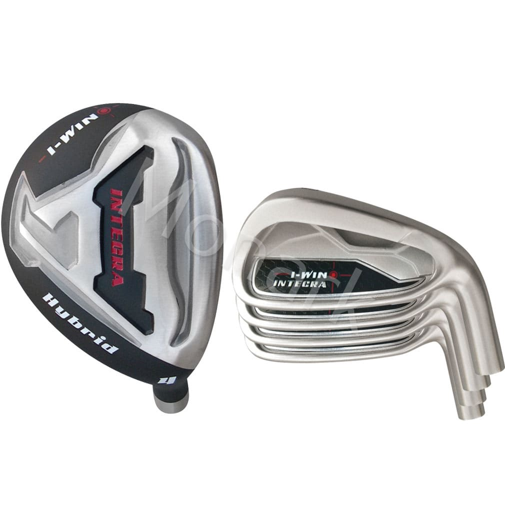 Custom-Built Integra i-Win Single Length Hybrid / Iron Combo Set (7 Clubs)