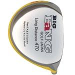 Custom-Built Bang Golf Big Bang Japan 470 Yellow Titanium Driver