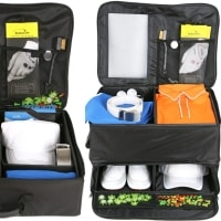 Intech Golf Trunk Organizer - Double Row