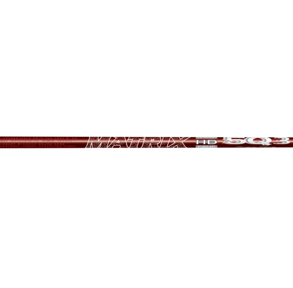 Matrix Ozik Red Tie 5Q3 Graphite Wood Shaft
