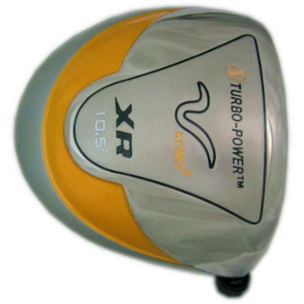 Turbo Power XR Komo Round Titanium Driver Head