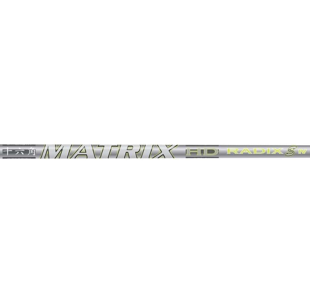 Matrix Radix S4 Graphite Iron Shafts