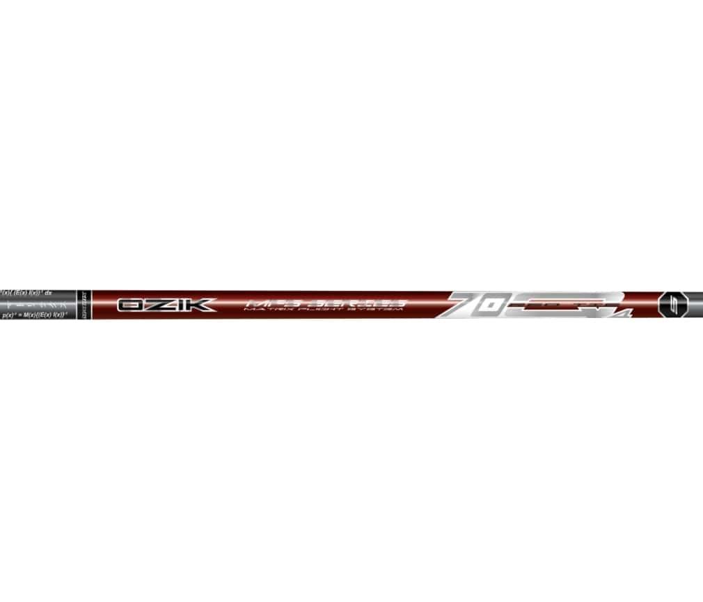 Matrix Ozik MFS 70Q4 Red Tie Graphite Wood Shaft
