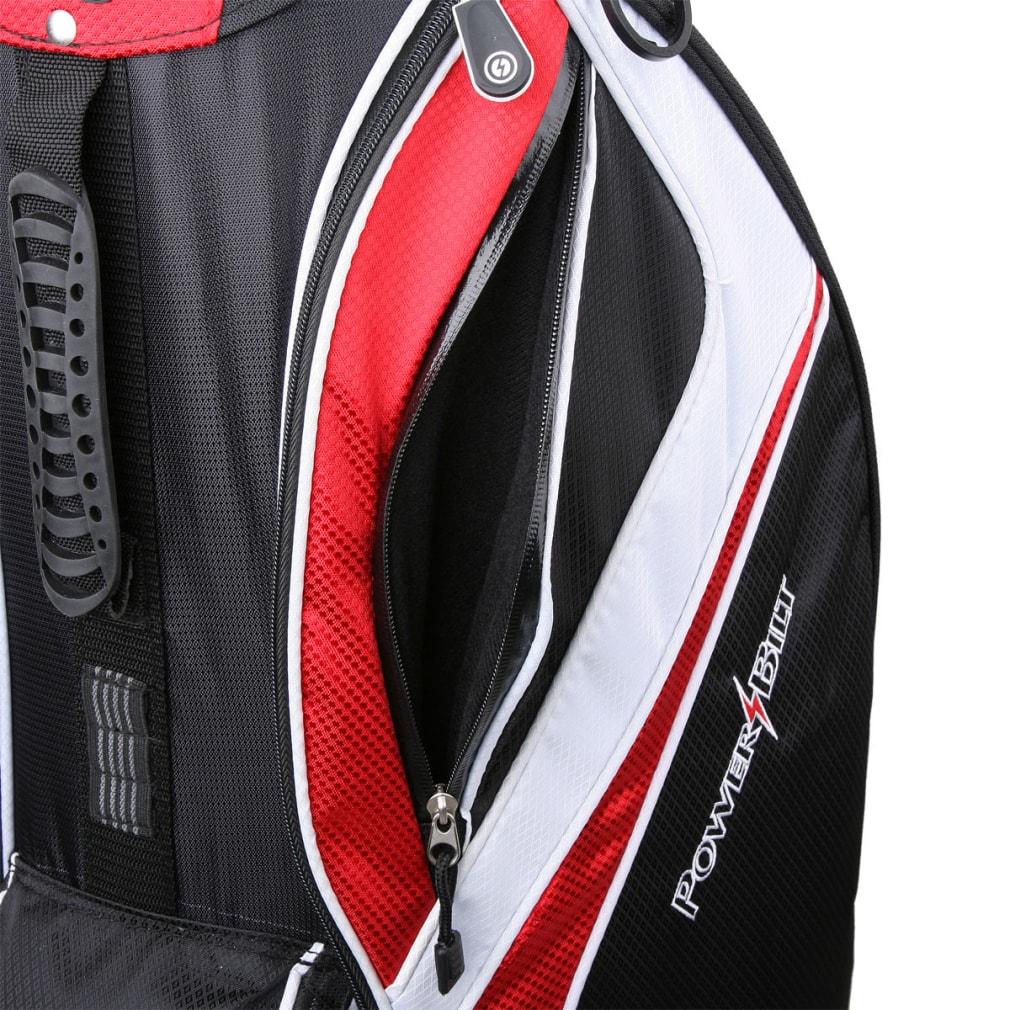 Powerbilt Air Attack Black/Blue Cart Bag