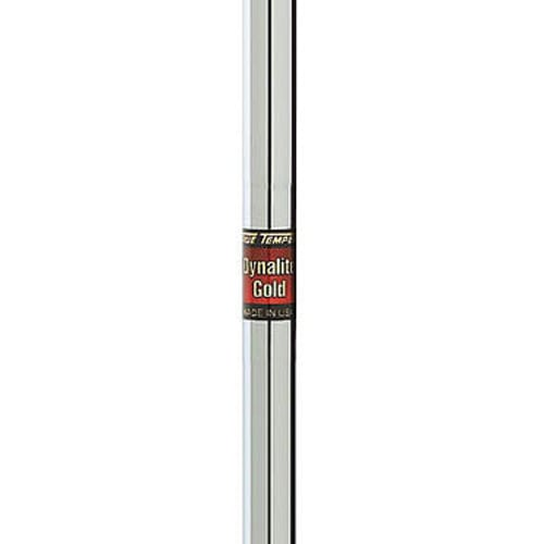 """True Temper Dynalite Gold 0.370"""" Parallel Tip Steel Iron Shaft"""