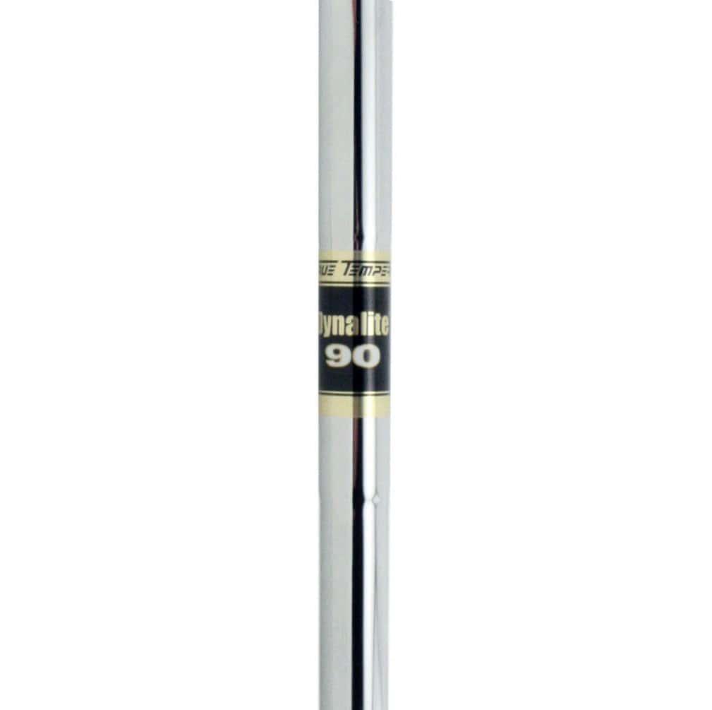 """True Temper Dynalite 90 0.370"""" Parallel Tip Steel Iron Shaft"""