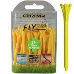"Champ Zarma FLYTee - 2.75"" Yellow Golf Tees 30 pack"