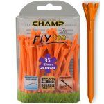 """Champ Zarma FLYTee - 3.25"""" Orange Golf Tees 25 pack"""