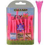 """Champ Zarma FLYTee - 3.25"""" Neon Pink Golf Tees 25 pack"""