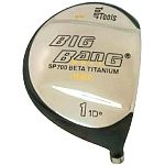 Bang Golf Big Bang SP700 Beta Titanium Driver Head