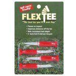 "FlexTee 3"" Flexible Golf Tees - Pack of 4"