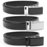 Ratcheting Golf Belt - Black