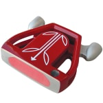 T-7 Twin Engine Red Mallet Putter Head