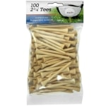 Intech 2 3/4-Inch Golf Tees 100-Pack - Natural