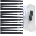 """Rexton Black Velvet Oversize (+1/16"""") 13 pc Grip Kit"""