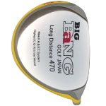Custom-Built Bang Golf Big Bang Japan 470 Yellow Titanium Driver