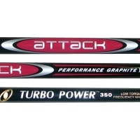 Turbo Power Attack Graphite Shafts